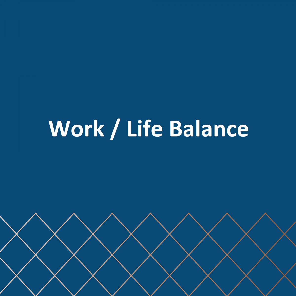 How to achieve a better work/life balance