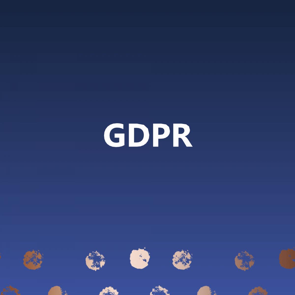My Take on GDPR!