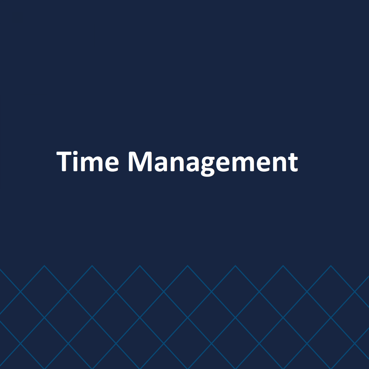 Time Management & Multi-Tasking in a Business