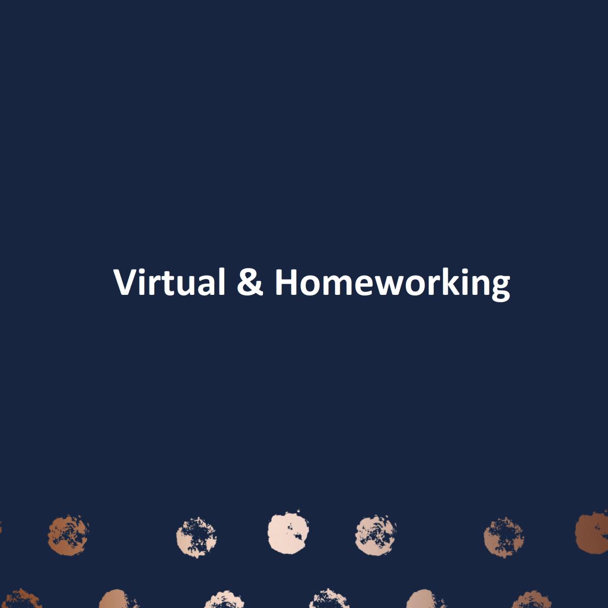 Virtual & Homeworking